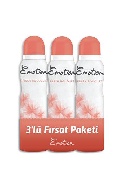 Fresh Bouquet 3'lü Kadın Deodorant 150ml x 3