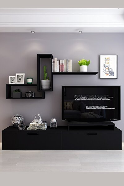 Siyah Roma Tv Ünitesi