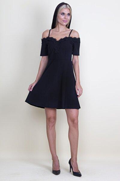 Kadın Dantel Detaylı Elbise