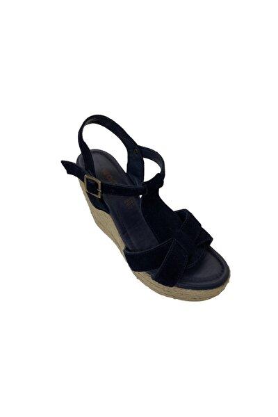 Hakiki Deri Kadın Lacivert Ayakkabı 5027545LCVRTWNN