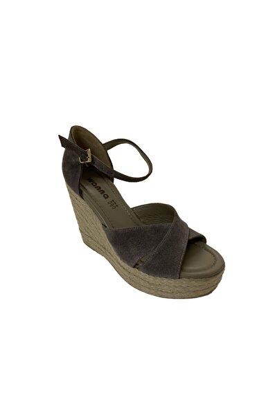 Hakiki Deri Kadın Gri Ayakkabı 6620545GRWNN