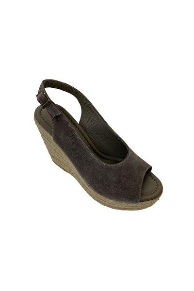 Hakiki Deri Kadın Gri Ayakkabı 4711545GRWNN