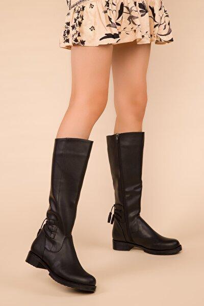 Siyah Kadın Çizme 15403