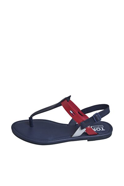 COLOR BLOCK BASIC THONG SANDAL