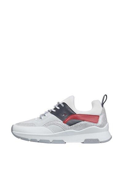 Kadın Kırmızı Sneaker Sporty Chunky Glıtter Sneaker FW0FW04853