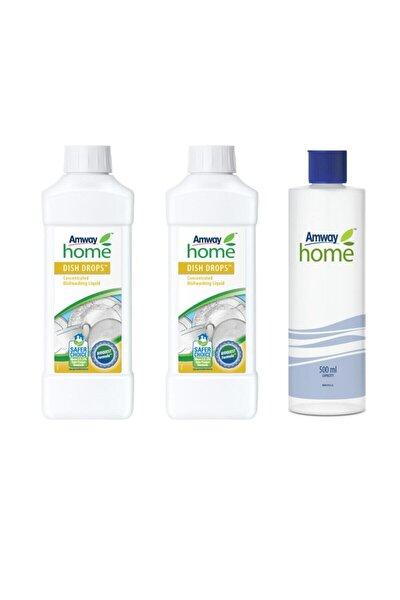 Dısh Drops Konsantre Sıvı Bulaşık Deterjanı Özel Kapaklı Şişe 2 Adet