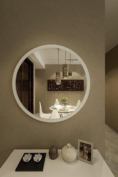 Wendy Dekoratif Konsol Aynası Beyaz