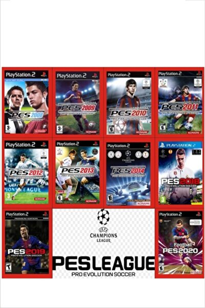 Playstatıon 2 Pes Serisi 10 Oyun