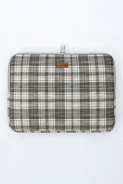 Bej Kahverengi Laptop Çantası Notebook Kılıfı 14 inç