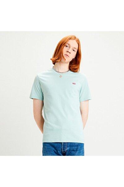 Erkek Yeşil Basic T-shirt 56605-0052
