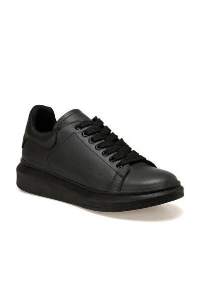 ADELİTAS Siyah Kadın Havuz Taban Sneaker 100583026