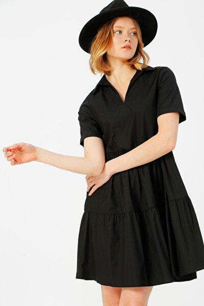 Kadın Siyah Elbise 504393857 Boyner