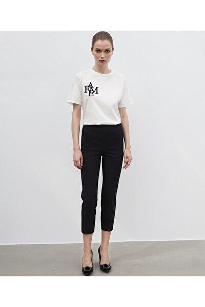 Kadın Siyah Klasik Kesim Pantolon IW6200003139