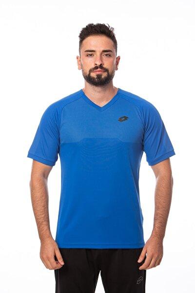 T-shirt Erkek V Yaka Saks Mavi-jakar Tee-r8884