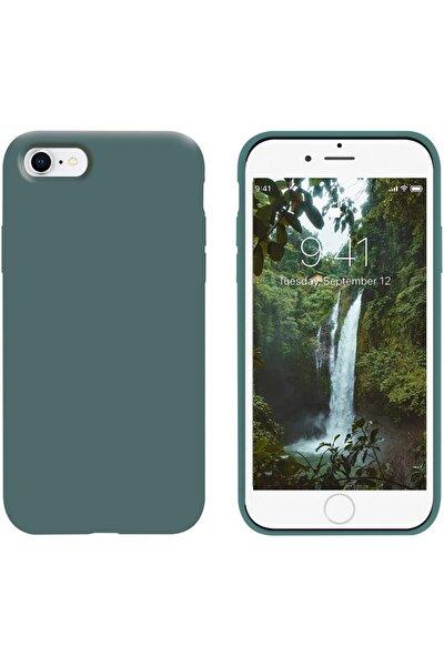 Iphone 7g / 8g Içi Kadife Lansman Silikon Kılıf