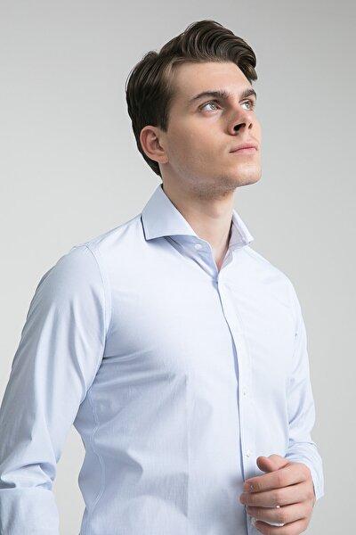 Erkek Mavi DS DAMAT GÖMLEK (Slim Fit) 3HF02TB08322Y_701