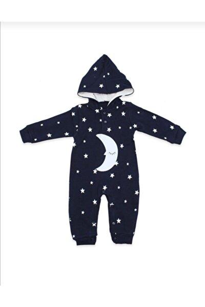 Bebek Lacivert Ayyıldız Tulum