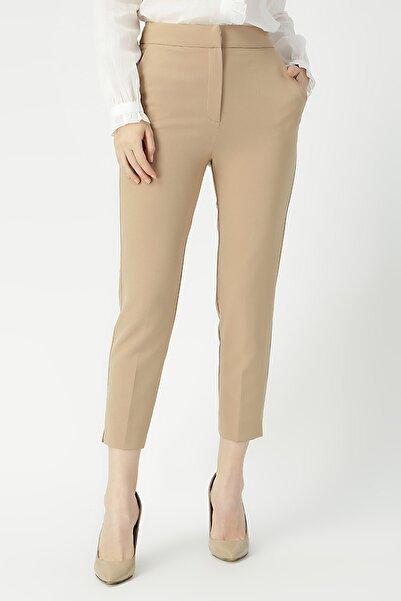 Kadın Klasik Kesim Yüksek Bel Pantolon