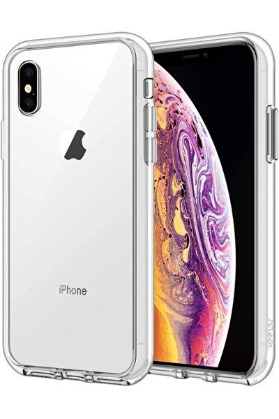 Iphone Xs Max Şeffaf Silikon Kapak Kılıf