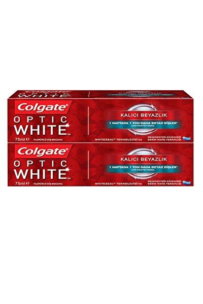 Diş Macunu Optic White Kalıcı Beyazlık 75 Ml X2