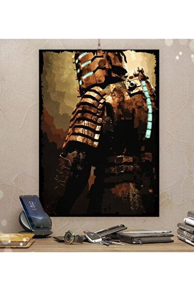 Deadspace Gamer Tasarım 35x50cm Hediyelik Dekoratif 8mm Ahşap Tablo