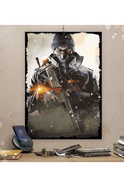 Division Gamer Tasarım Ahşap Tablo 35x50 cm 8 mm