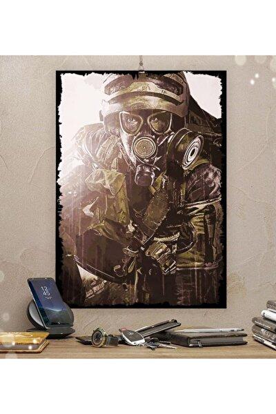 Metro Gamer Tasarım Dekoratif Ahşap Tablo 35x50cm 8mm