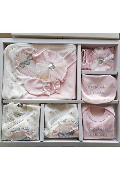 Kız Bebek Balonlu 10'lu Hastane Çıkış Seti