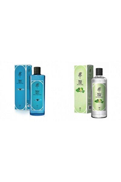 Aqua + Lime 270 Ml Cam Şişe Set