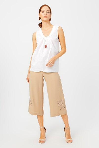 Kadın Beyaz Bluz 504393040