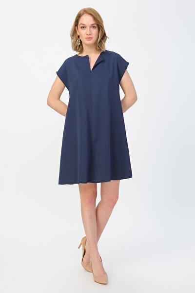 Kadın Lacivert Elbise 504393190
