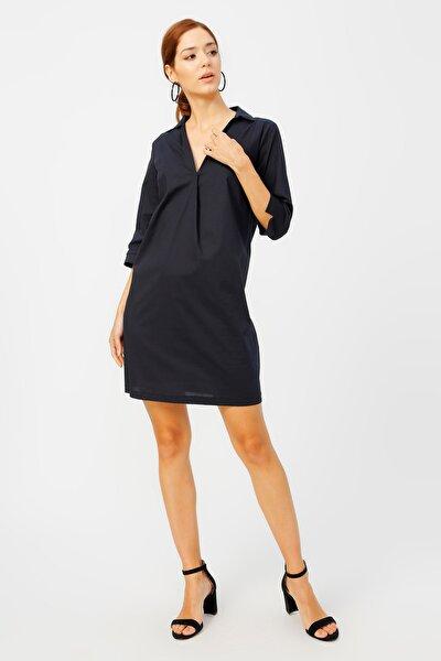 Kadın Lacivert Elbise 504393138 Boyner