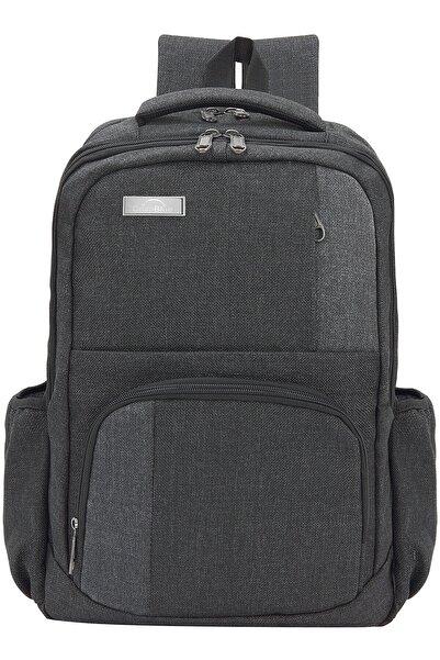 Gri  Koton 15.6'' Notebook Ve Evrak Sırt Çantası Dp-550