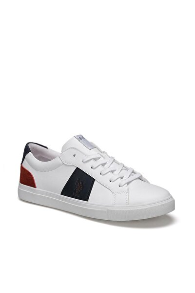 U.s. Polo Assn. Erkek Ayakkabı 0P Alen Beyaz/White 10S040PALEN