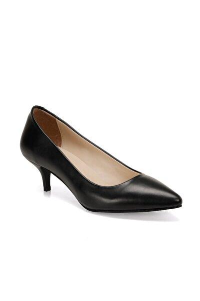 20K-707 Siyah Kadın Topuklu Ayakkabı 100573060