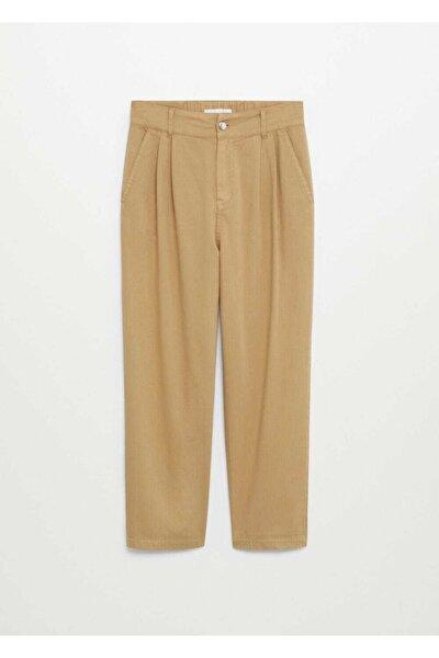 Kadın Kum Bej Pantolon