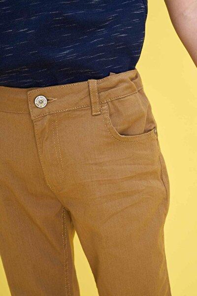 Ekstra Slim Fit Twill Pantolon