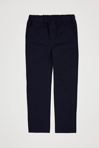 Erkek Çocuk Beli Lastikli Pamuklu Pantolon
