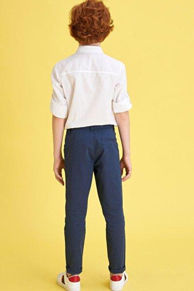 Erkek Çocuk Slim Dokuma Pantolon M4707A620SPI