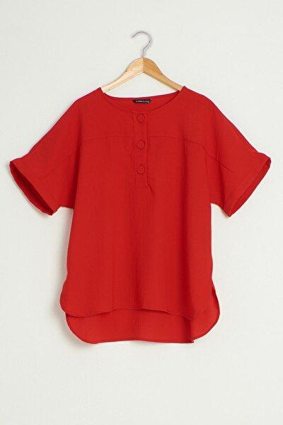 Kadın Kırmızı Bluz 0WDI16Z8