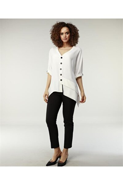 Kadın Lacivert Casual Pantolon