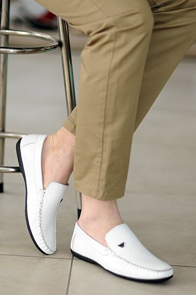 Erkek Beyaz Casual Ayakkabı