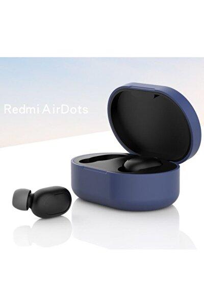 Redmi Airdots Için Silikon Koruma Kılıfı - Lacivert