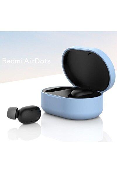 Redmi Airdots Için Silikon Koruma Kılıfı - Açık Mavi