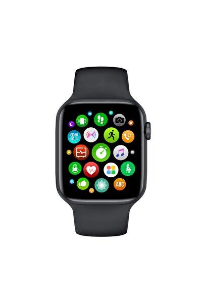 Unisex Siyah Ateş Ve Kalp Hızı Ölçer Akıllı Saat W26-watch 6