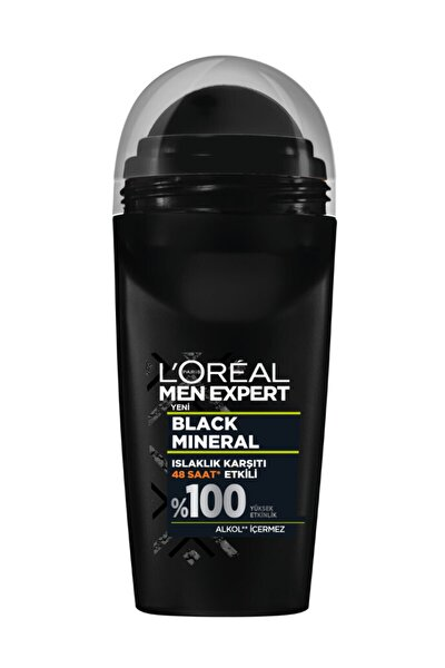 Men Black Mineral Roll-on 50 Ml