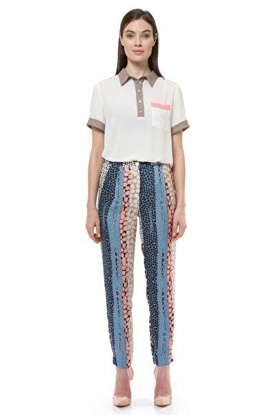 Kadın Pudra Mavi Pantolon 19s02120co07