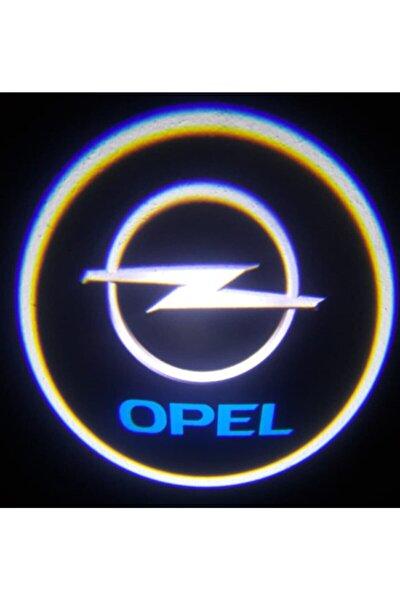 Opel Pilli Yapıştırmalı Karanlık Ve Mesafe Sensörlü Mıknatıssız Kapı Altı Led Logo (2 Adet)