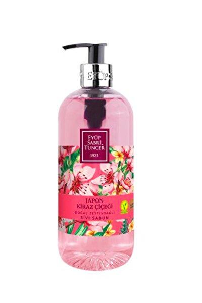 Japon Kiraz Çiçeği Doğal Zeytinyağlı Sıvı Sabun 500 Ml