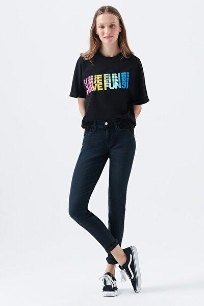 Kadın Ada Vintage  Jean Pantolon 1020524264